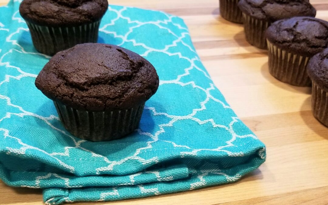 Decadent Chocolate Muffins