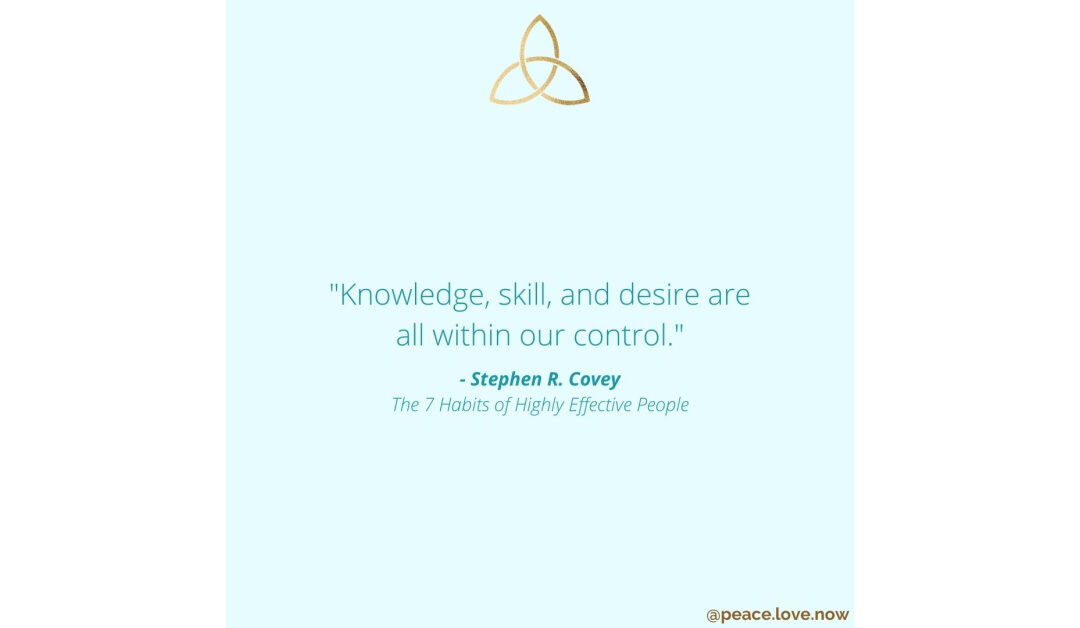 Knowledge, Skill, & Desire