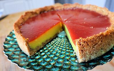 Lemon & Raspberry Pie